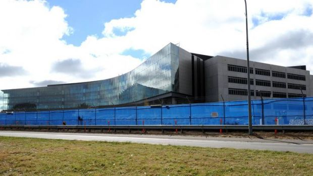 The ASIO building on Parkes Way.