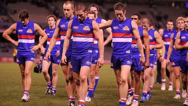 The Western Bulldogs are looking to avoid too many scenarios like this next season.