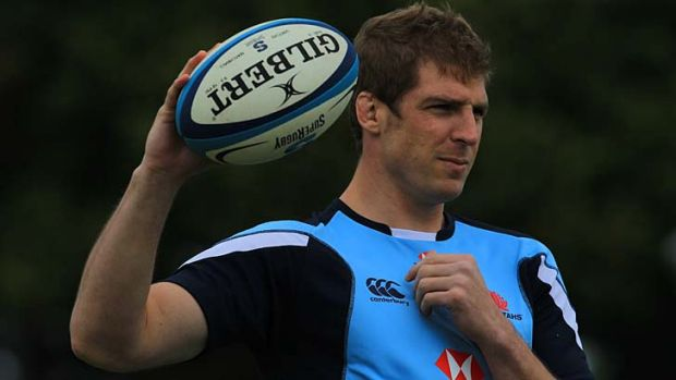 Absent ... Dan Vickerman has been largely unavailable for the Waratahs this season.