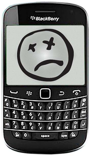 Ditched ... BlackBerry. <em>Illustration: Colin Hamilton</em>
