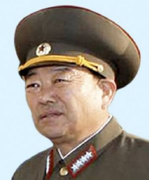 An undated file picture of North Korean General Hyon Yong-chol.