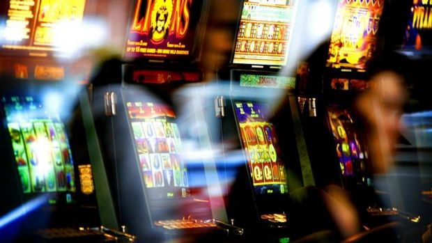 Slotted in ... there has been a surge in gambling expenditure since carbon tax payments began.