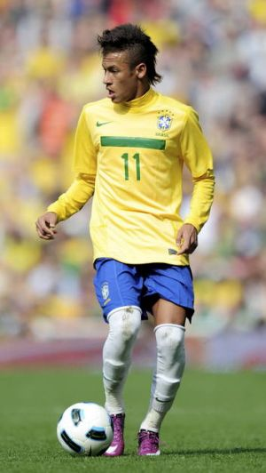 Neymar ... the Brazilian superstar could help the South Americans win gold for the first time.