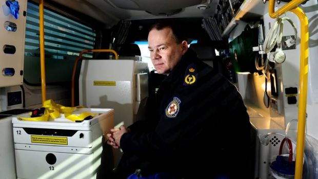 ACT Ambulance Service Deputy Chief officer, David Dutton talks about ambulance officers being assaulted whilst on the job.