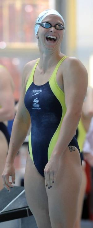 Final fight ... Libby Trickett can still force her way into the 4x100 metres freestyle final team.