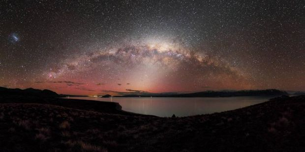 "Winner of the Photo Editor's choice, ""Crown Jewels above Lake Tekapo"". A panoramic image taken at Lake Tekapo, New ..."