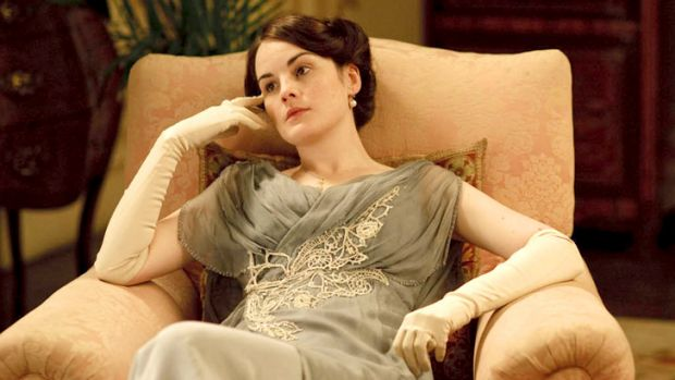 The age of opulence ... Downton Abbey inspires designers.