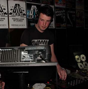 Ned Dwyer when he was DJing.