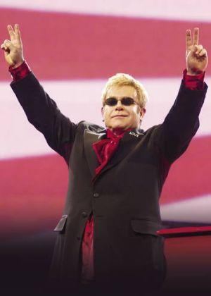 Elton John will appear in Canberra November 14.