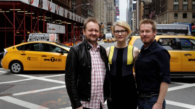 Andrew Upton, Cate Blanchett and Richard Roxburgh have brought the Sydney Theatre Company's production of Chekhov play ...