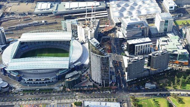 Etihad Stadium was once the centrepiece of Docklands.