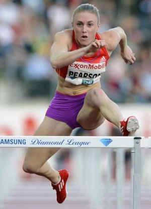 Ignition … shock defeat has refired Sally Pearson's resolve.