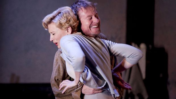 Blanchett and Roxburgh in the highly acclaimed STC production.