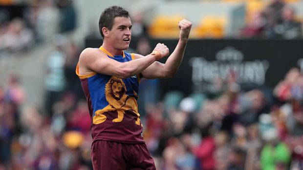 Tom Rockliff pictured after the Brisbane Lions' win over Port Adelaide at The Gabba during round 15 of the AFL season, ...