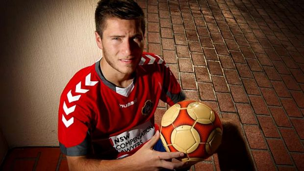 David Vrankovic has signed with Melbourne Heart.