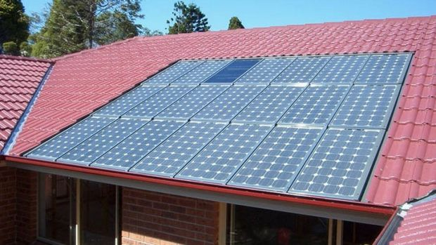 Solar panel prices have crashed.