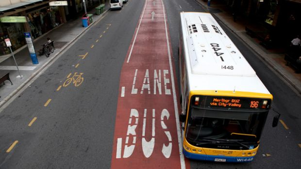 Buses could be a better traffic solution for Brisbane than toll roads.
