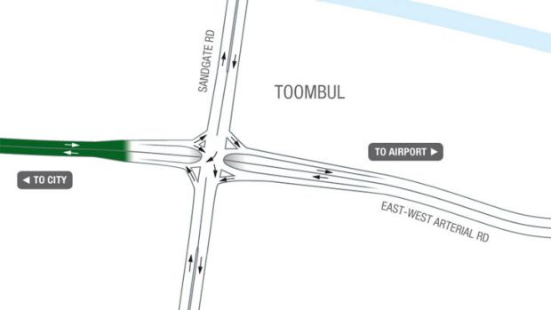 The Toombul entrance. <B><A href= ...