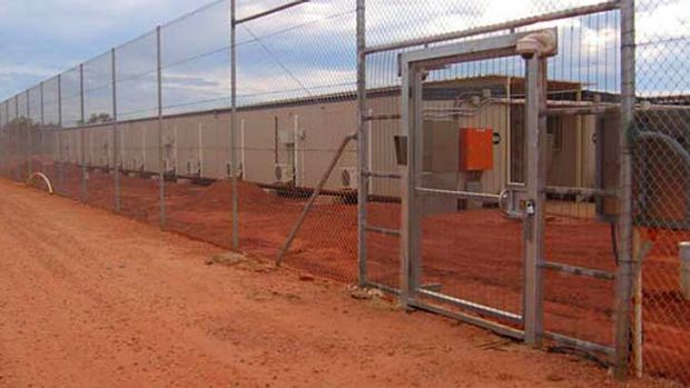 Facilities at the Curtin Detention Centre, in north Western Australia, await the arrival of asylum seekers.