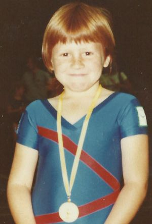 The only gold medal of my life ... a few moons ago.