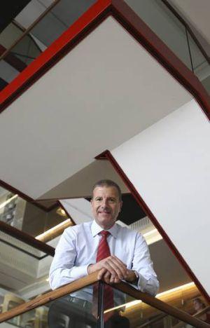 Going ... Stockland managing director Matthew Quinn.