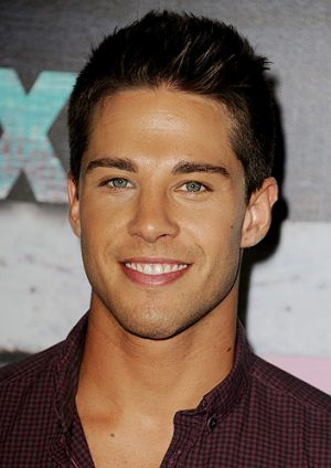 Dean Geyer is tipped to play Rachel's (Lea Michele) new love interest on <i>Glee</i>.
