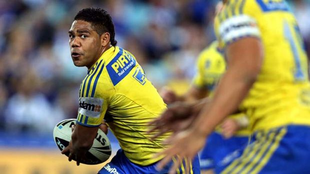 Long road back: Chris Sandow.