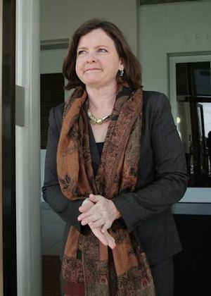 Ged Kearney, President of the Australian Council of Trade Unions.