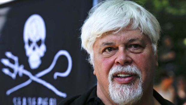 Red Notice ...  Paul Watson, founder  of  environmental group the Sea Shepherd Conservation Society.