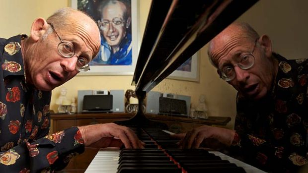 David Helfgott practices until 2am.