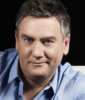 Eddie McGuire sounded like he was reading slabs of text off the page.