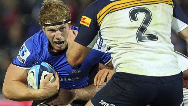 Heart and soul of the team ... the Western Force will be left with a huge hole in its ranks after David Pocock leaves ...