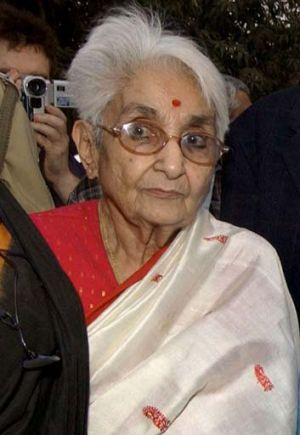 Lakshmi Sehgal … was in charge of the INA women's wing.