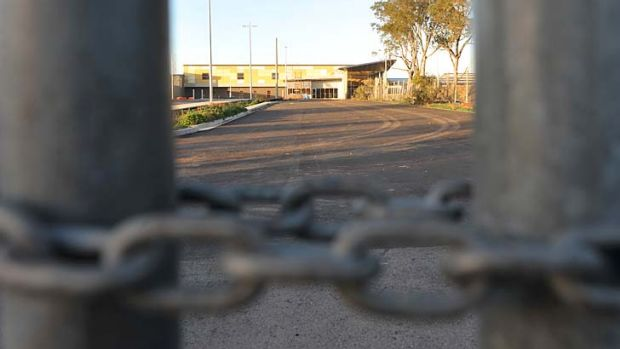 Construction stalled at Ararat Prison.
