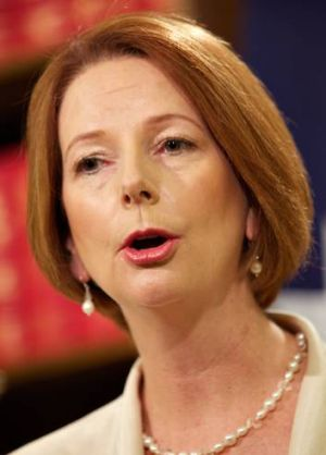 'Julia Gillard has had the opportunity since 2010 to step into the gravitas of her office.'