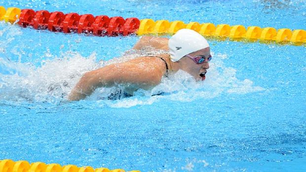 Alicia Coutts ... added a bronze medal to her relay gold.