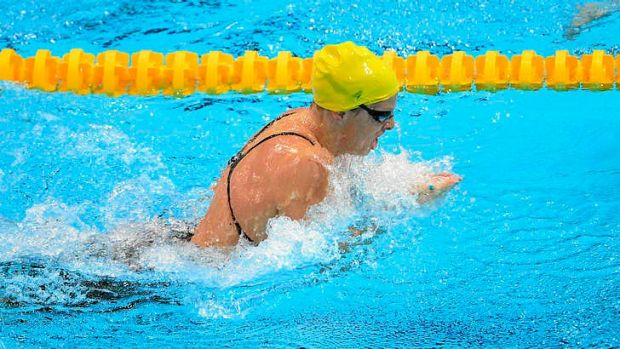 Leisel Jones earns a place in tomorrow night's women's 100m breaststroke final at the London Olympics with a third place ...