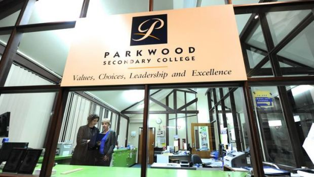 Parkwood Secondary College.