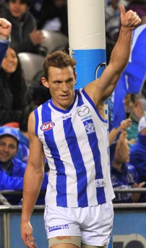 Drew Petrie supports the introduction of two byes from 2013.