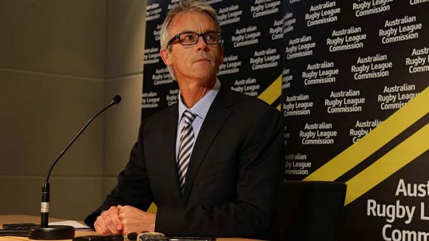Replacement required ... David Gallop departed the job four months into his four year term.