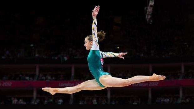 ''I got out there and did exactly what I wanted to do'' ... Lauren Mitchell, Australia's first gymnastics world ...