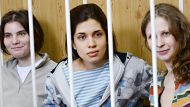 Punk band on trial in Russia (Video Thumbnail)