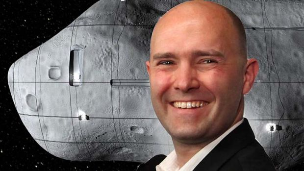 Eric Anderson is hoping to fund his own mission to the moon.