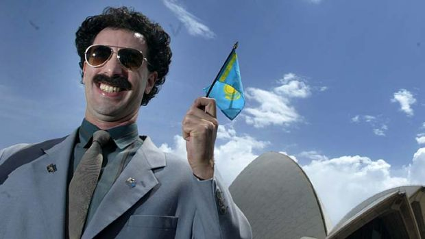 Making their mark ... Kazakhstan is escaping from the shadow of Borat.