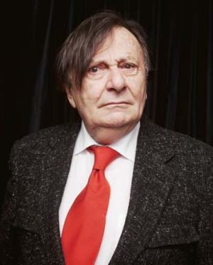 Out and about: Barry Humphries.