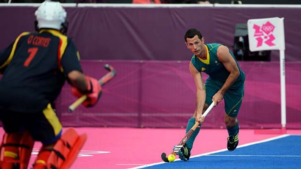 """""""We've got to take a look at the big picture and keep raising the bar"""" ... Kookaburras star Jamie Dwyer."""