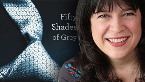 Best-selling writer ever ... EL James, author of <i>Fifty Shades of Grey</i>
