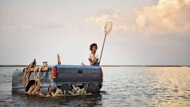 As Hushpuppy, in <i>Beasts of the Southern Wild</i>, Quvenzhane Wallis provides the film's eyes, ears and imagination.