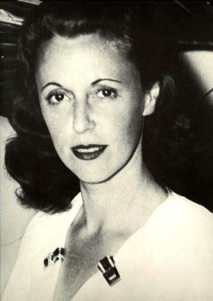 Enchanted ... Nica Rothschild in Mexico in 1947.