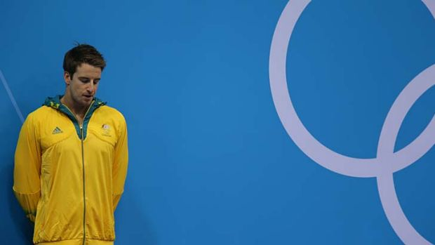 James Magnussen ... finished second in the 100m freestyle by the narrowest of margins.